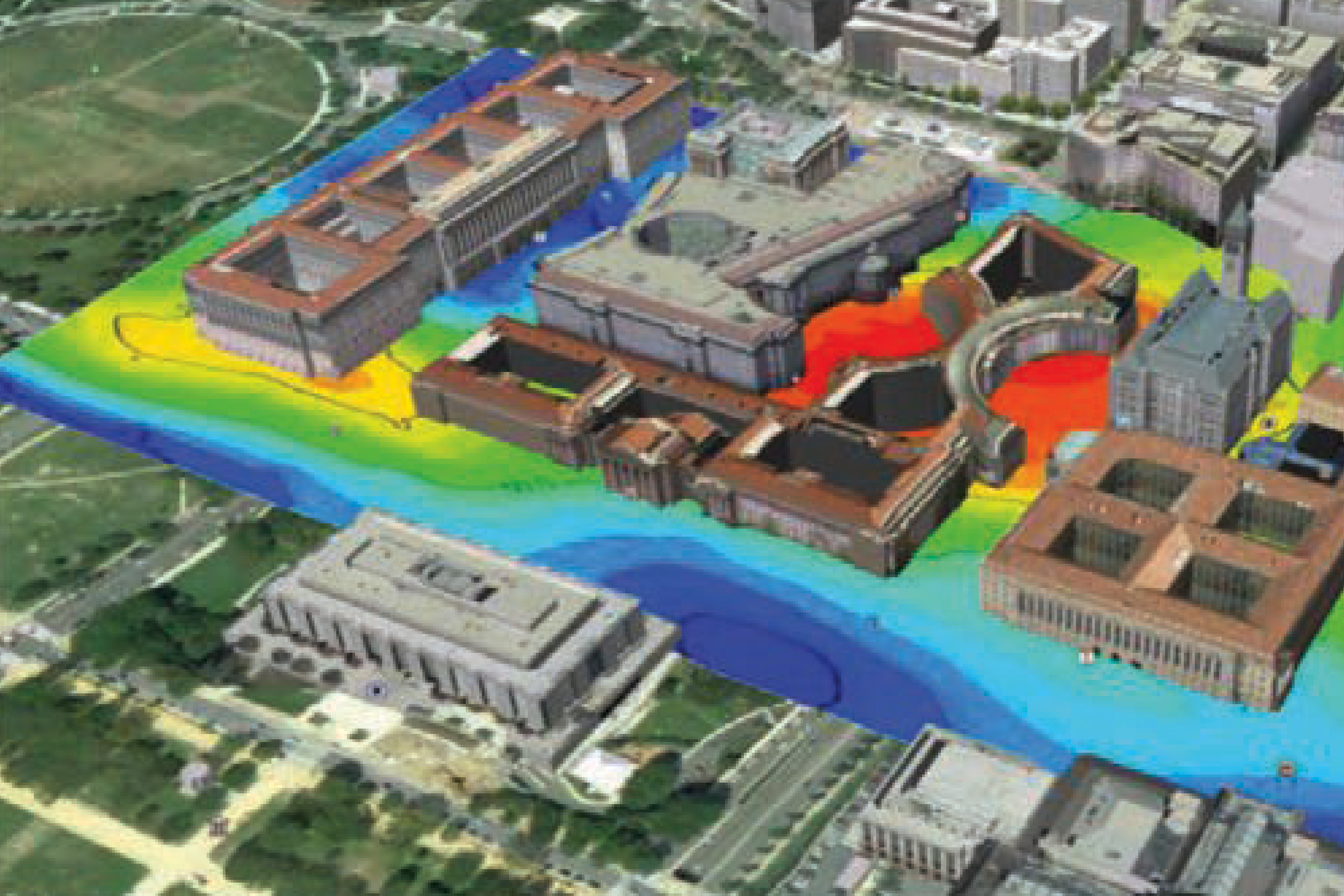Software para modelado geológico en 3D.