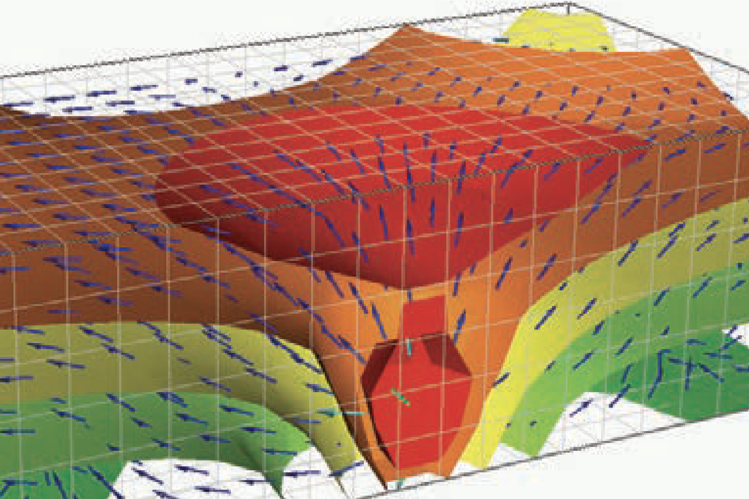 Modelador de flujo, transporte y calor.